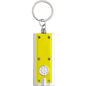 Világítós kulcstartó, műanyag